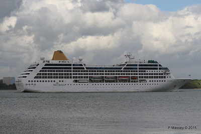 9 May 2015 ADONIA Outbound Southampton