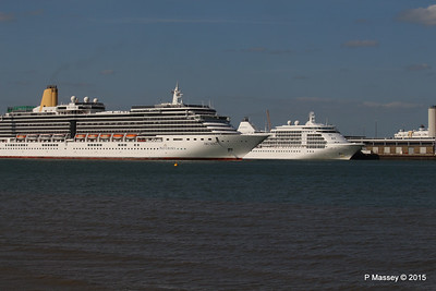 ARCADIA Passing SILVER WHISPER Southampton PDM 16-05-2015 17-06-17