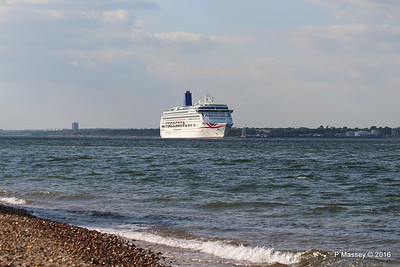 AURORA Passing Calshot Spit in to Solent PDM 16-05-2016 17-41-20