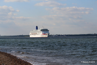 AURORA Passing Calshot Spit in to Solent PDM 16-05-2016 17-42-026