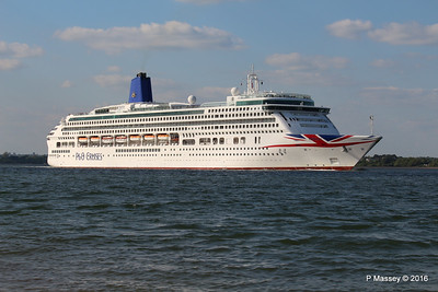 AURORA Passing Calshot Spit in to Solent PDM 16-05-2016 17-44-42