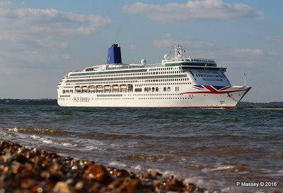 AURORA Passing Calshot Spit in to Solent PDM 16-05-2016 17-44-023