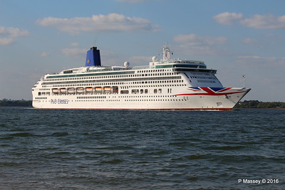 AURORA Passing Calshot Spit in to Solent PDM 16-05-2016 17-44-043