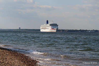 AURORA Passing Calshot Spit in to Solent PDM 16-05-2016 17-41-19