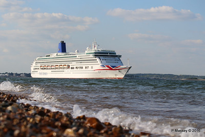 AURORA Passing Calshot Spit in to Solent PDM 16-05-2016 17-44-002