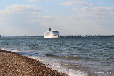 AURORA Passing Calshot Spit in to Solent PDM 16-05-2016 17-41-27