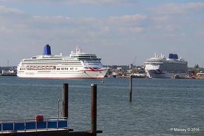 AURORA Departing BRITANNIA Southampton PDM 16-05-2016 17-09-54