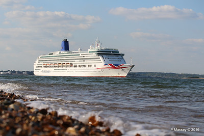 AURORA Passing Calshot Spit in to Solent PDM 16-05-2016 17-44-01