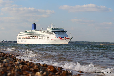 AURORA Passing Calshot Spit in to Solent PDM 16-05-2016 17-44-001
