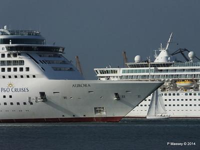 AURORA Passing BALMORAL Southampton PDM 17-05-2014 18-09-17
