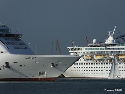 AURORA Passing BALMORAL Southampton PDM 17-05-2014 18-09-11
