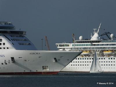 AURORA Passing BALMORAL Southampton PDM 17-05-2014 18-09-14