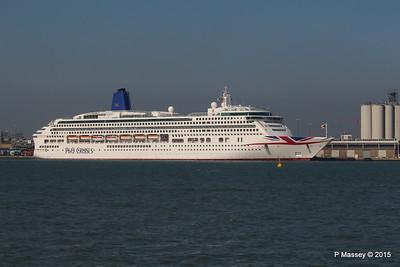 23 Apr 2015 AURORA Alongside Southampton