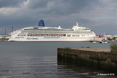 AURORA Departing Southampton PDM 05-08-2016 18-00-02