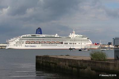 AURORA Departing Southampton PDM 05-08-2016 18-00-18