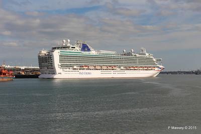 19 Apr 2015 AZURA Outbound Southampton