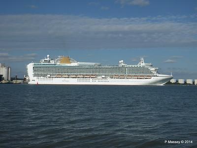 AZURA Departing Southampton PDM 31-08-2014 17-10-09