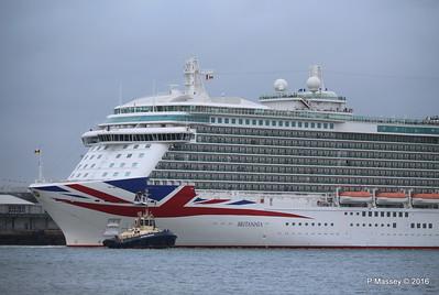 BRITANNIA Departing Southampton PDM 20-08-2016 19-11-15