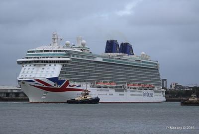 BRITANNIA Departing Southampton PDM 20-08-2016 19-13-41