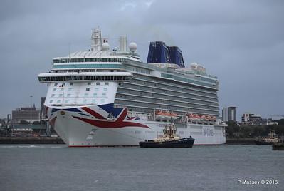 BRITANNIA Departing Southampton PDM 20-08-2016 19-14-10