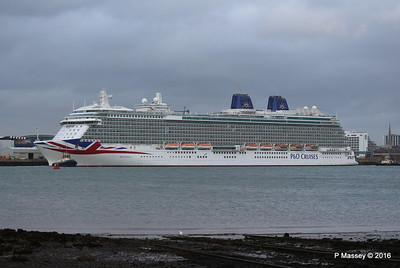 BRITANNIA Departing Southampton PDM 20-08-2016 19-07-12