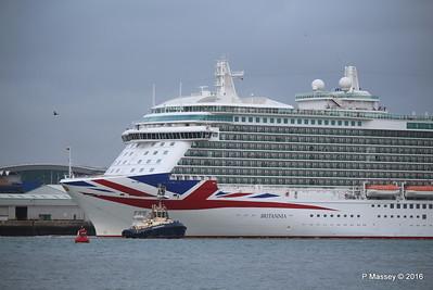 BRITANNIA Departing Southampton PDM 20-08-2016 19-08-55