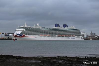 BRITANNIA Departing Southampton PDM 20-08-2016 19-05-39
