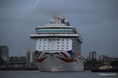 BRITANNIA Departing Southampton PDM 20-08-2016 19-14-41