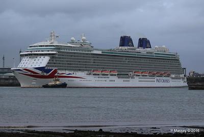 BRITANNIA Departing Southampton PDM 20-08-2016 19-12-35