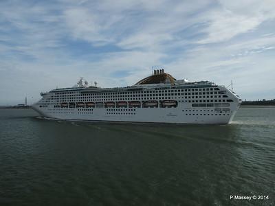 12 Jul 2014 OCEANA Departing