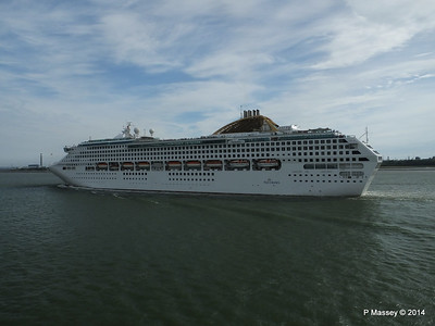12 Jul 2014 OCEANA Departing