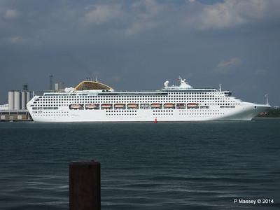 OCEANA Departing Southampton PDM 17-05-2014 16-49-26