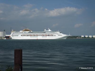OCEANA Departing Southampton PDM 17-05-2014 16-49-31