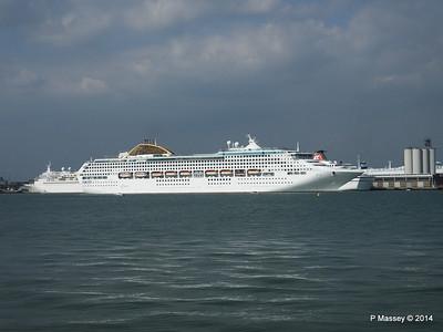 OCEANA Departing Southampton PDM 17-05-2014 16-48-03