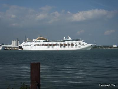 OCEANA Departing Southampton PDM 17-05-2014 16-49-28