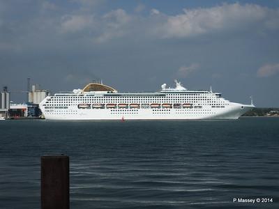OCEANA Departing Southampton PDM 17-05-2014 16-49-35