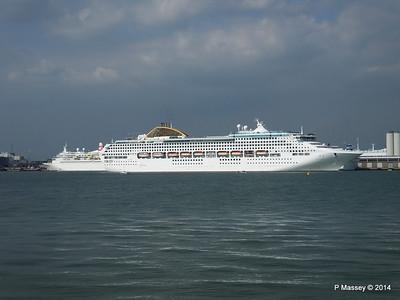 OCEANA Departing Southampton PDM 17-05-2014 16-48-06