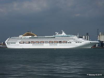 OCEANA Departing Southampton PDM 17-05-2014 16-48-25