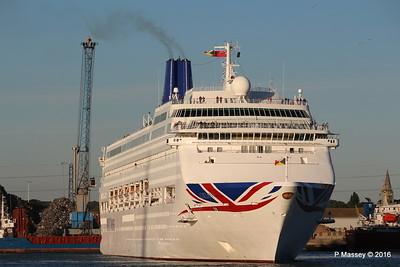 ORIANA Departing Southampton PDM 03-10-2016 17-31-31