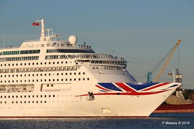 ORIANA Departing Southampton PDM 03-10-2016 17-32-58