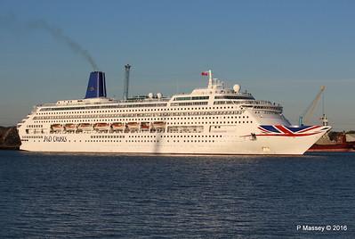 ORIANA Departing Southampton PDM 03-10-2016 17-33-03