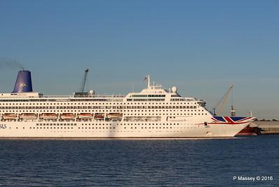 ORIANA Departing Southampton PDM 03-10-2016 17-34-53