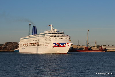 ORIANA Departing Southampton PDM 03-10-2016 17-31-58
