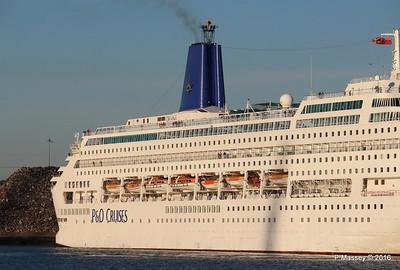 ORIANA Departing Southampton PDM 03-10-2016 17-32-19