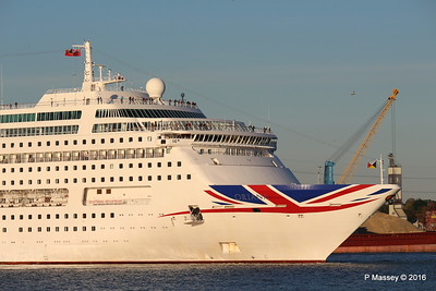 ORIANA Departing Southampton PDM 03-10-2016 17-32-57