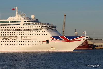 ORIANA Departing Southampton PDM 03-10-2016 17-33-34