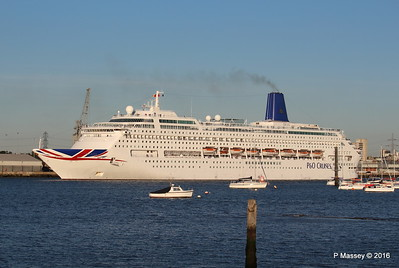 ORIANA Departing Southampton PDM 03-10-2016 17-25-55