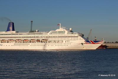 ORIANA Departing Southampton PDM 03-10-2016 17-34-15
