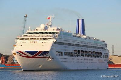 ORIANA Departing Southampton PDM 03-10-2016 17-30-25