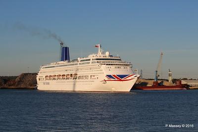 ORIANA Departing Southampton PDM 03-10-2016 17-32-08